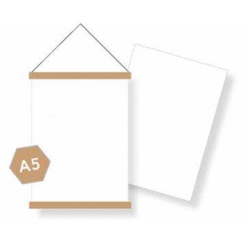 DIY blanco A5 posterpakket