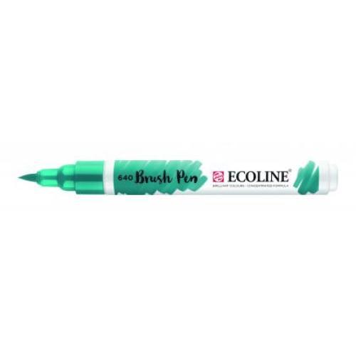 Talens ecoline Brush Pen blauwgroen