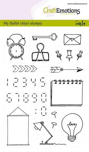 Clear stamps - images-digits