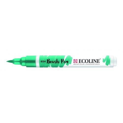 Talens ecoline Brush Pen dennengroen