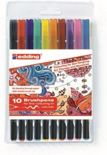 Edding brushpennen
