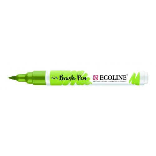 Talens ecoline Brush Pen grasgroen