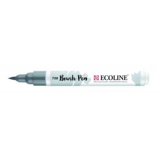 Talens ecoline Brush Pen koud grijs licht