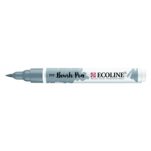 Talens ecoline Brush Pen koud grijs
