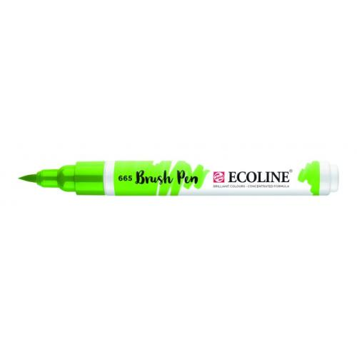 Talens ecoline Brush Pen lentegroen
