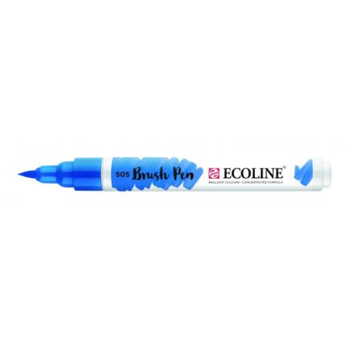Talens ecoline Brush Pen licht ultramarijn