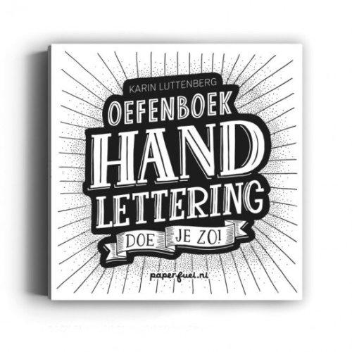 Oefenboek - Handlettering doe je zo ! Paperfuel