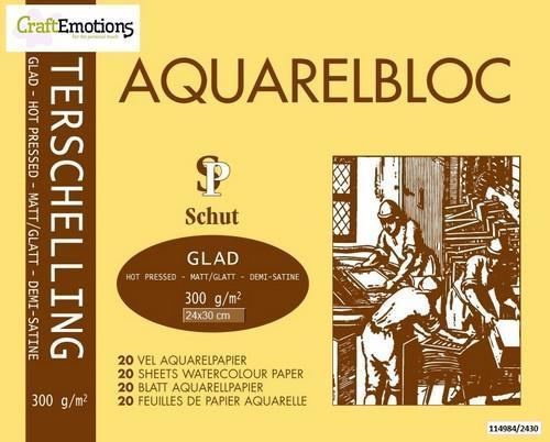 Aquarelblok Terschelling glad 20 vel