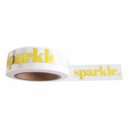 Washi tape sparkle