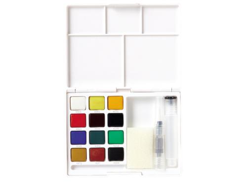 Koi water colors sketch box