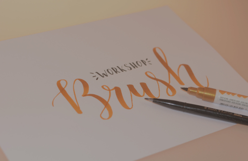 Brushlettering: the basics