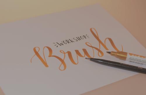 Brushlettering: the basics