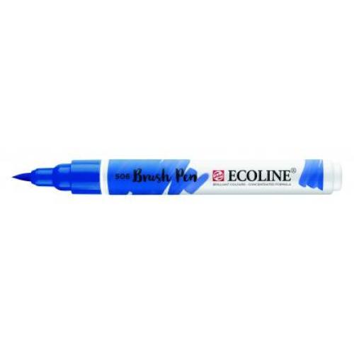 Talens ecoline Brush Pen ultramarijn donker