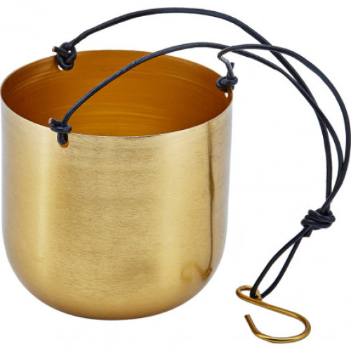Hanging pot brass