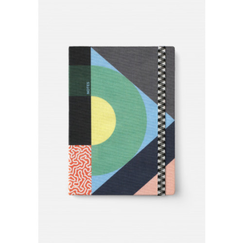 Canvas notebook A5 - roundabout