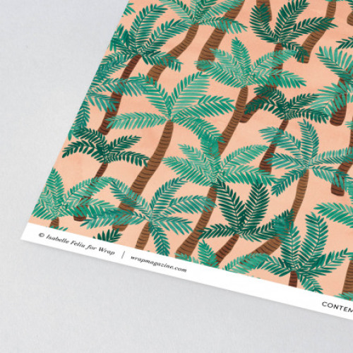 Vel inpakpapier Palm Trees
