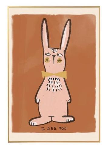 Studioloco Poster Rabbit 50x70cm