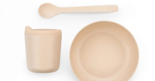 Blush | Bambino baby feeding set