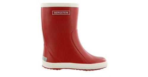 Bergstein regenlaars - rood (maat 21-35)