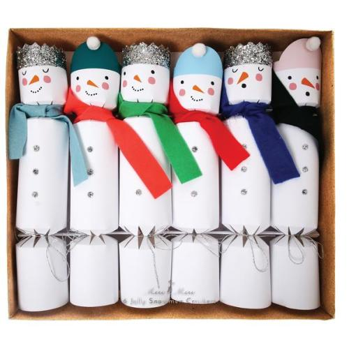 Crackers Jolly Snowmen