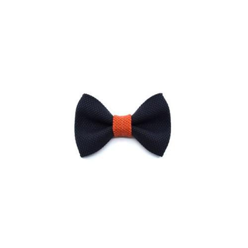 Vlinderstrik blauw - oranje