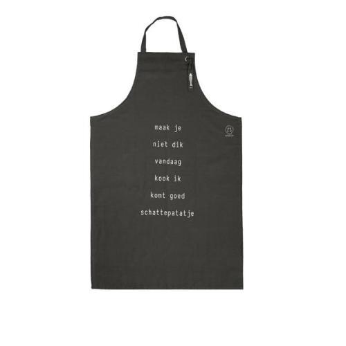 Keukenschort 'Vandaag kook ik'