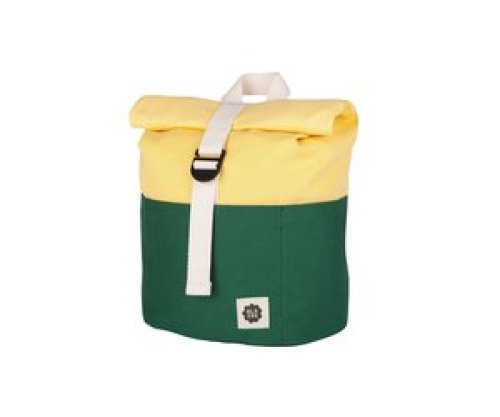 Blafre Roll-top rugzak 1-4j dark green/light yellow