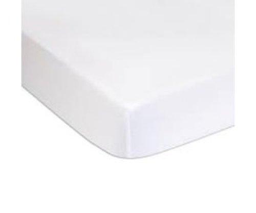 Charlie Crane Hoeslaken wit 70x150cm voor meegroeibed MUKA