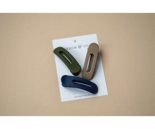 Grech & Co Grip Clip haarspeldjes 3st - A