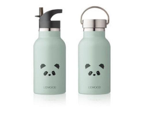 Liewood Drinkfles Anker Panda dusty mint