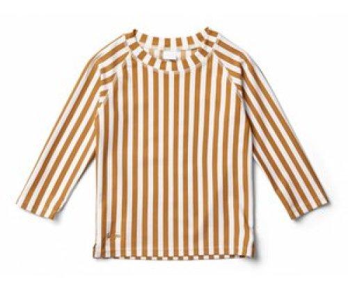 Liewood Zwemshirt Noah Stripe mustard