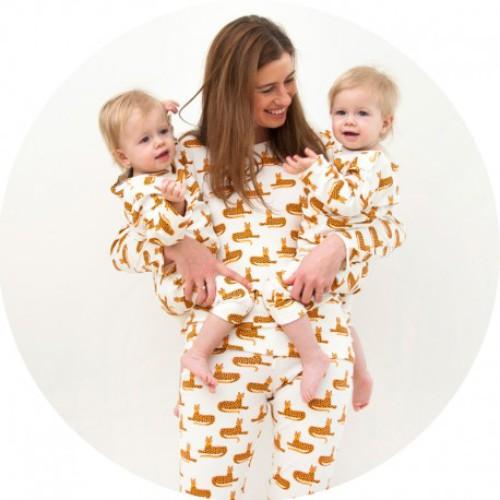 MOMMY & ME • Mommy-pyjama Cheetah