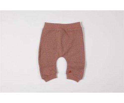 mundo melocotón Baggy pants organic sweater blush