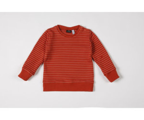 mundo melocotón Sweatshirt Seaqual Siska La Línea cinnamon