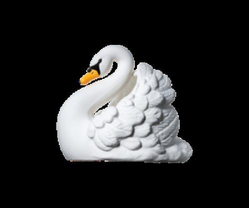 Natruba Badspeeltje natuurrubber Swan