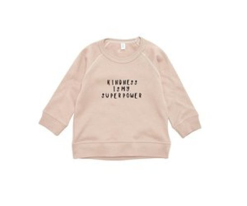 Organic Zoo Clay sweatshirt Kindness