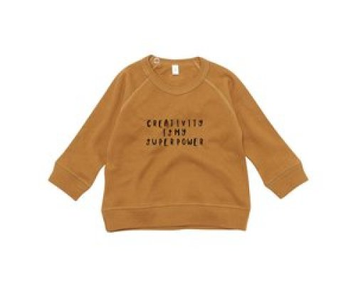 Organic Zoo Spice sweatshirt Creativity