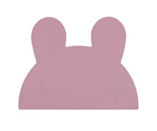 We Might Be Tiny Placemat Bunny dusty rose