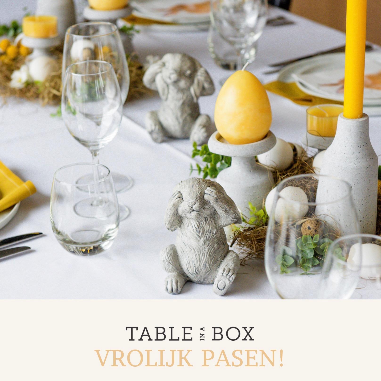 Table in a Box  | Tafelversiering voor een pinterestproof paastafel — Table in a Box