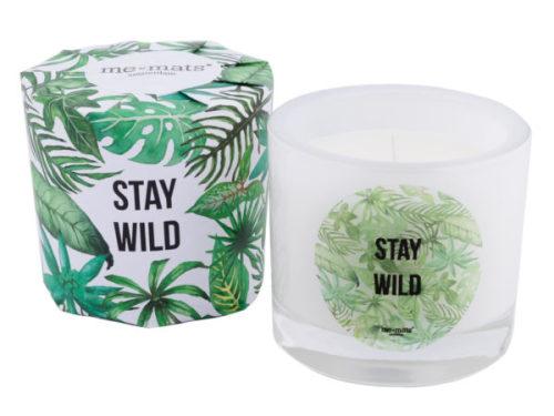 Geurkaars 'Stay Wild'