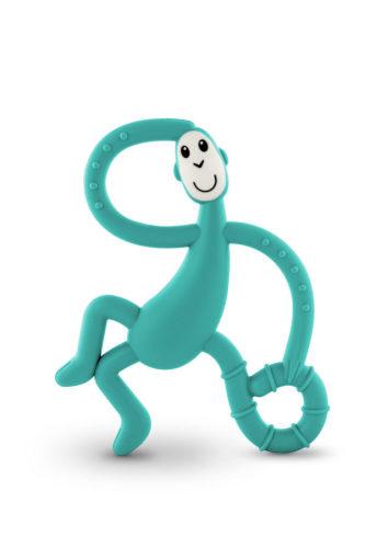 Bijtspeeltje dansend aapje groen
