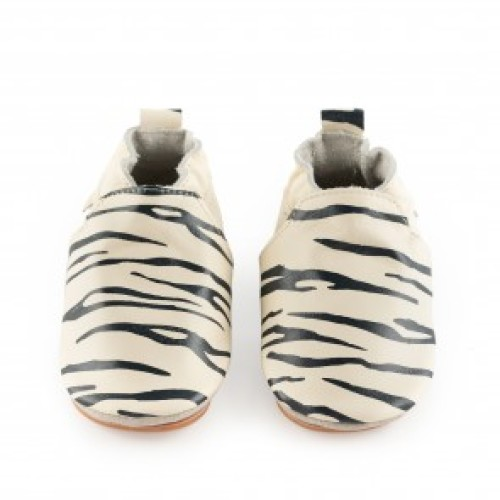 SINKI Zebra Cream Leather
