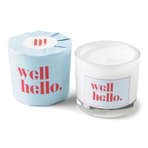 Geurkaars 'Well Hello'