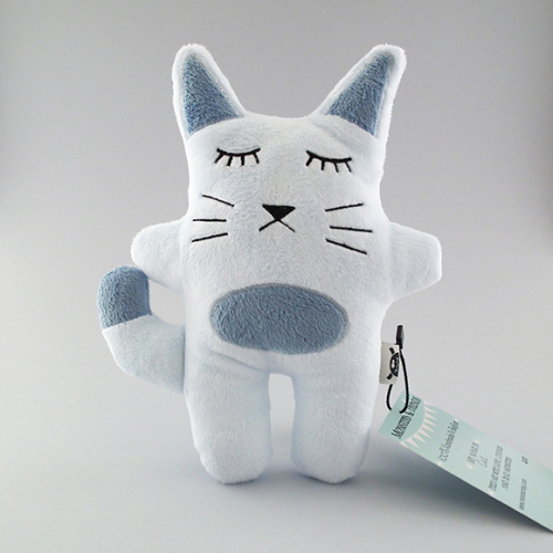 Cat - light blue