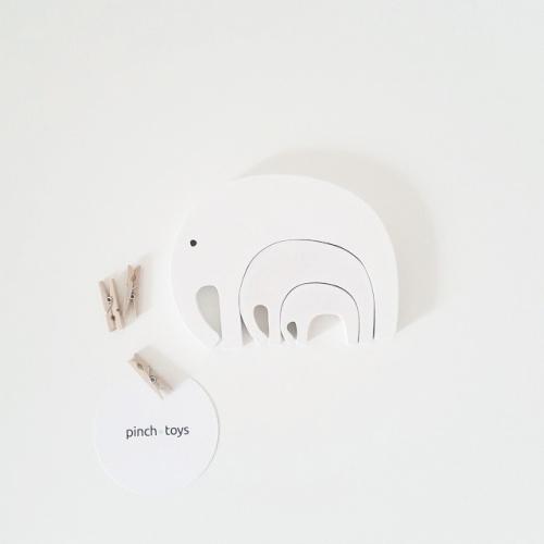 Pinch Toys - Elephant Puzzle