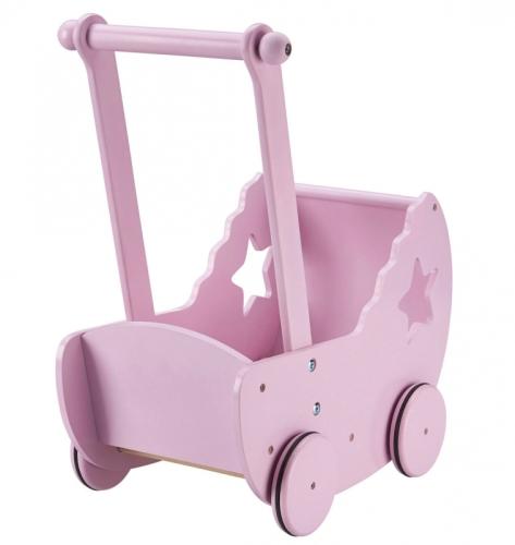 Kid's Concept - poppenwagen met ster