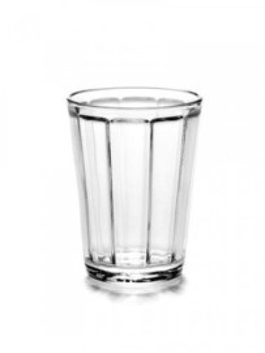 Water- /koffieglas Serax Surface / set van 4