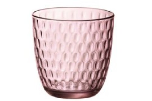 Waterglas roze / set van 6