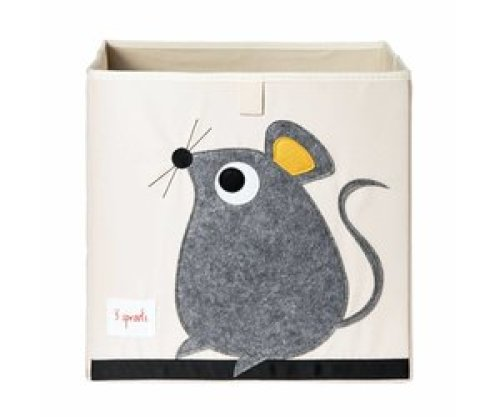 3 Sprouts Opbergbox - Muis