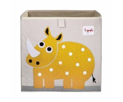 3 Sprouts Opbergbox - Nijlpaard